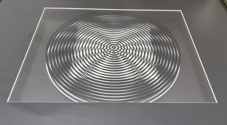 Victor Vasarely Original Optical Illusion Art For Sale 1