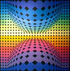 """Victor Vasarely, """"Kartchou"""" (1976)"""