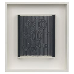 "Victor Vasarely - ""Petite Venus"", silkscreen on plexiglass 1987, framed"