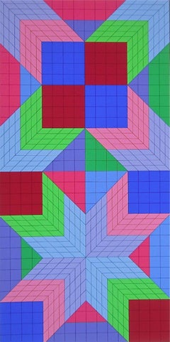 DO-OR, Limited Edition Silkscreen, Victor Vasarely - LARGE