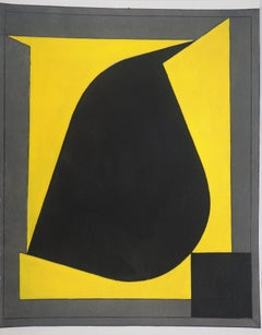 Geometric Composition - Lithograph and stencil, 1958