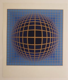 Kinetic Composition, Blue Sphere