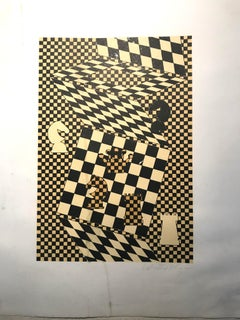 """""""L'échiquier"""" by Victor Vasarely"""