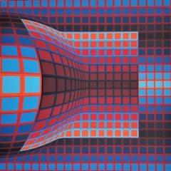 Optical Cube 1975 by Victor Vasarely