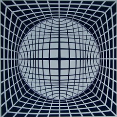 TER-UR, Limited Edition Silkscreen, Victor Vasarely - LARGE
