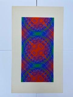 Vasarely - Kinetics 1 - 1965
