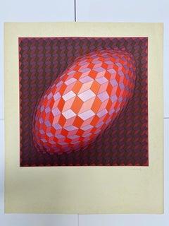 Vasarely - Kinetics 10 - 1965