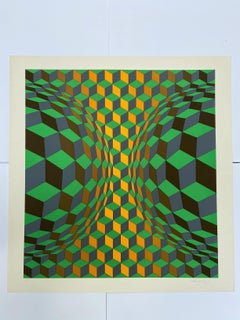 Vasarely - Kinetics 3 - 1965