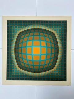 Vasarely - Kinetics 5 - 1965