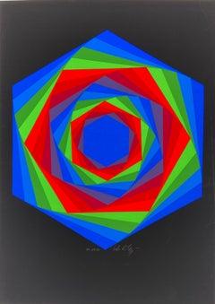 Vasarely - Kinetics 7 - 1965