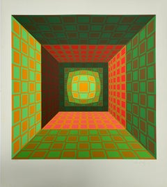 Vasarely - Kinetics 8 - 1965