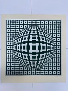 Vasarely - Kinetics 9 - 1965