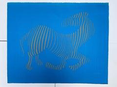 Vasarely - Zebra - 1989