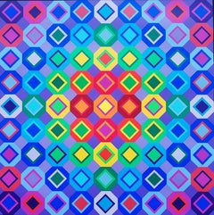 """Victor vasarely  """"Answers to Vasarely """"1974"""
