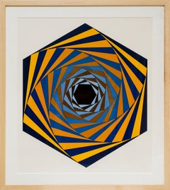 "Victor Vasarely ""Los Angeles (LA)"", 1980"