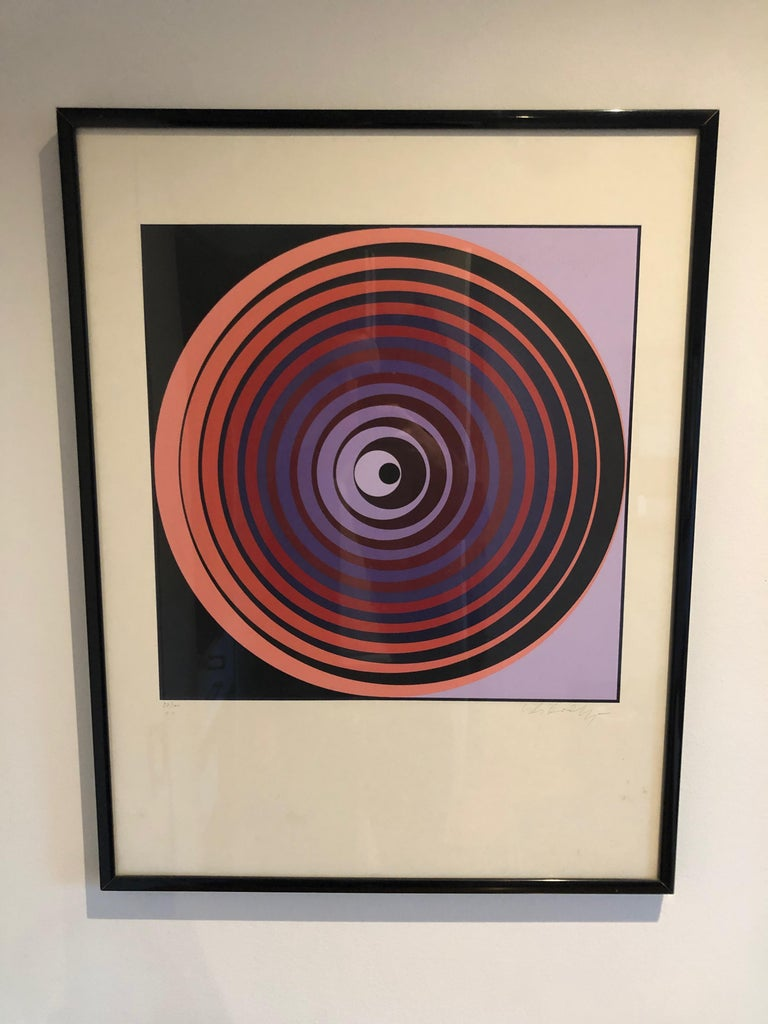 Victor Vasarely Screen Print For Sale 2