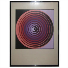 Victor Vasarely Screen Print