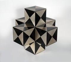 Vasarely Sculpture in Aluminium #6 of 10