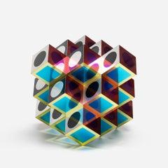 Victor Vasarely, KROA B, Anodyzed Aluminum, Edition