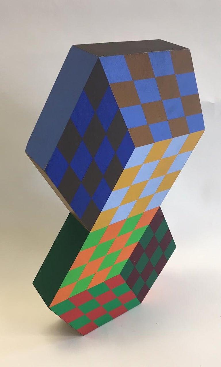 Victor Vasarely Tridim-Rv Sculpture For Sale 1