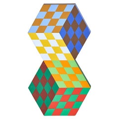 Victor Vasarely Tridim-Rv Sculpture