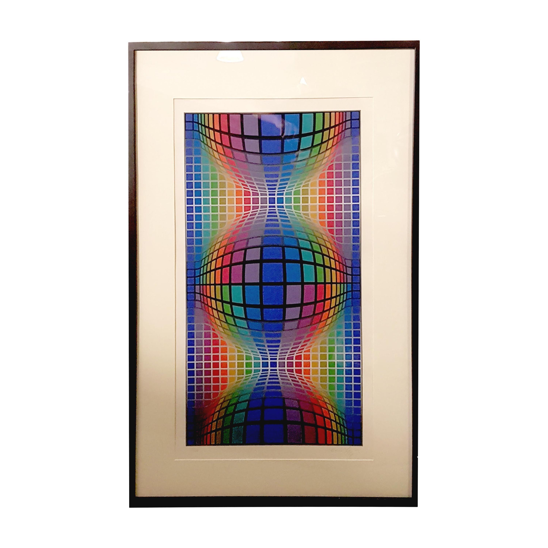 Victor Vasarely Untitled Silkscreen Print