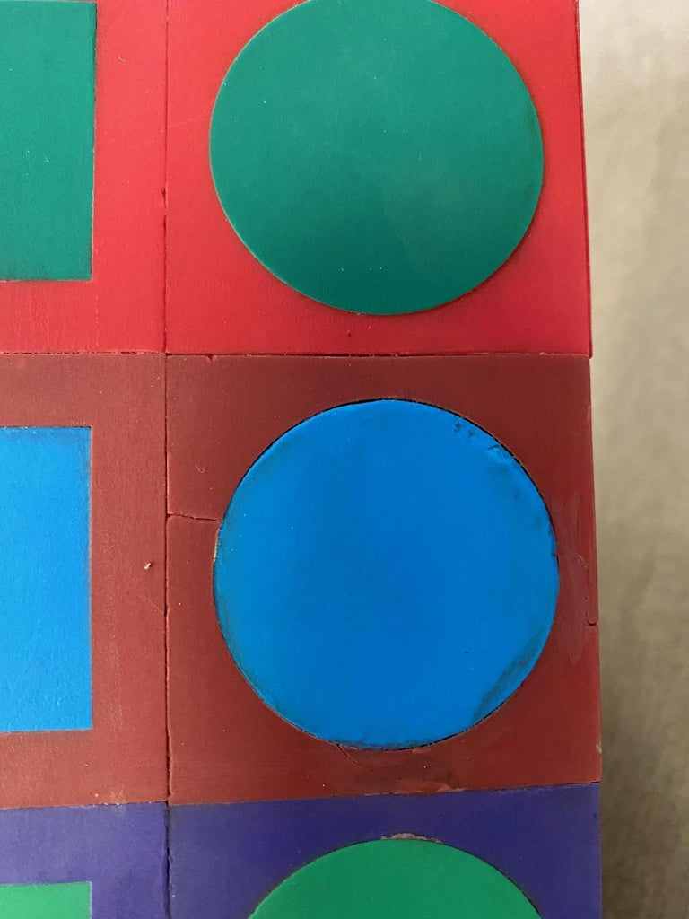 Victor Vasarely Sculpture For Sale 1