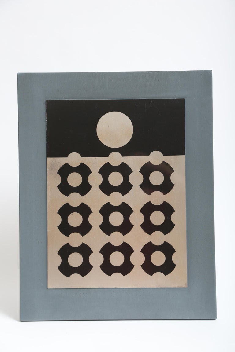 Late 20th Century Victor Vasarely Print on Aluminum For Sale