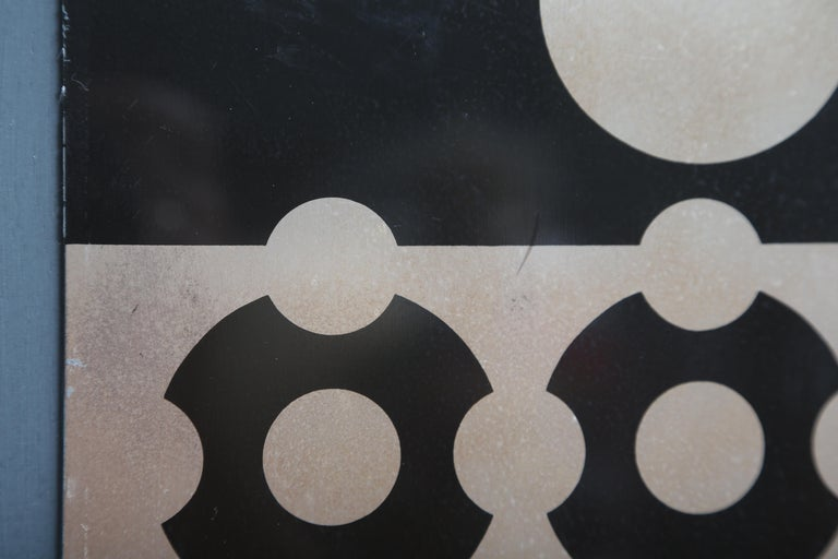 Victor Vasarely Print on Aluminum For Sale 4