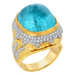Victor Velyan Paraiba and Diamond Ring