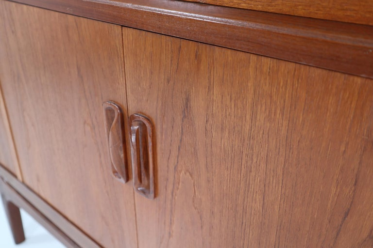 Victor Wilkins for G-Plan Teak and Afromosia Midcentury Credenza, England, 1960s For Sale 5
