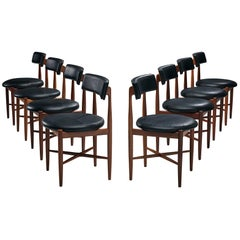 Victor Wilkins Set of Eight Dining Chairs for G Plan