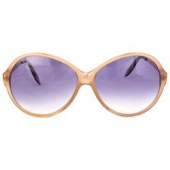 VICTORIA BACKHAM nude acetate 0277 6314 Sunglasses brown gradient Lens