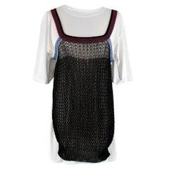 Victoria Beckham Crochet Layered Tee 2