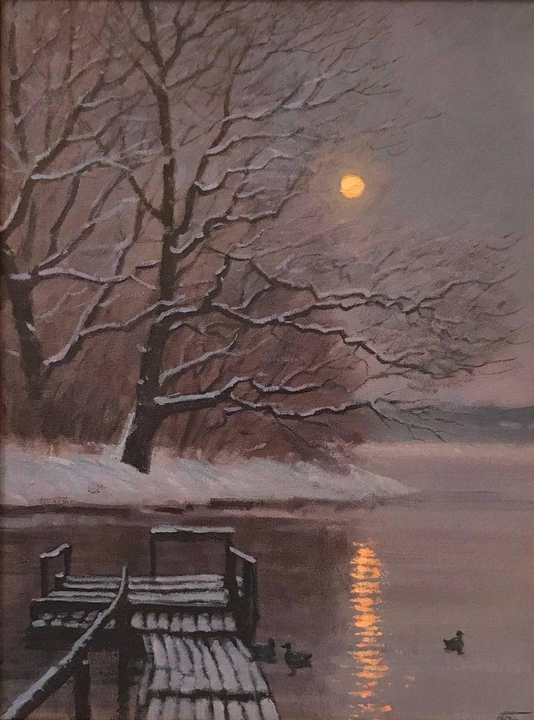 Victoria Bondarenko Landscape Painting - After the Snow Fall