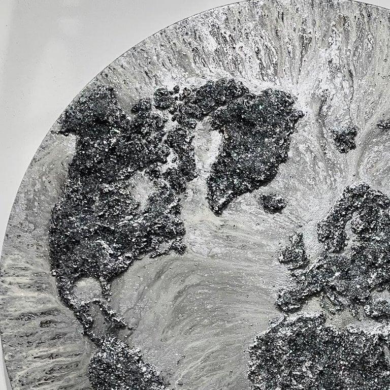 The World-XXXII, Mixed Media on Canvas - Contemporary Mixed Media Art by Victoria Kovalenchikova
