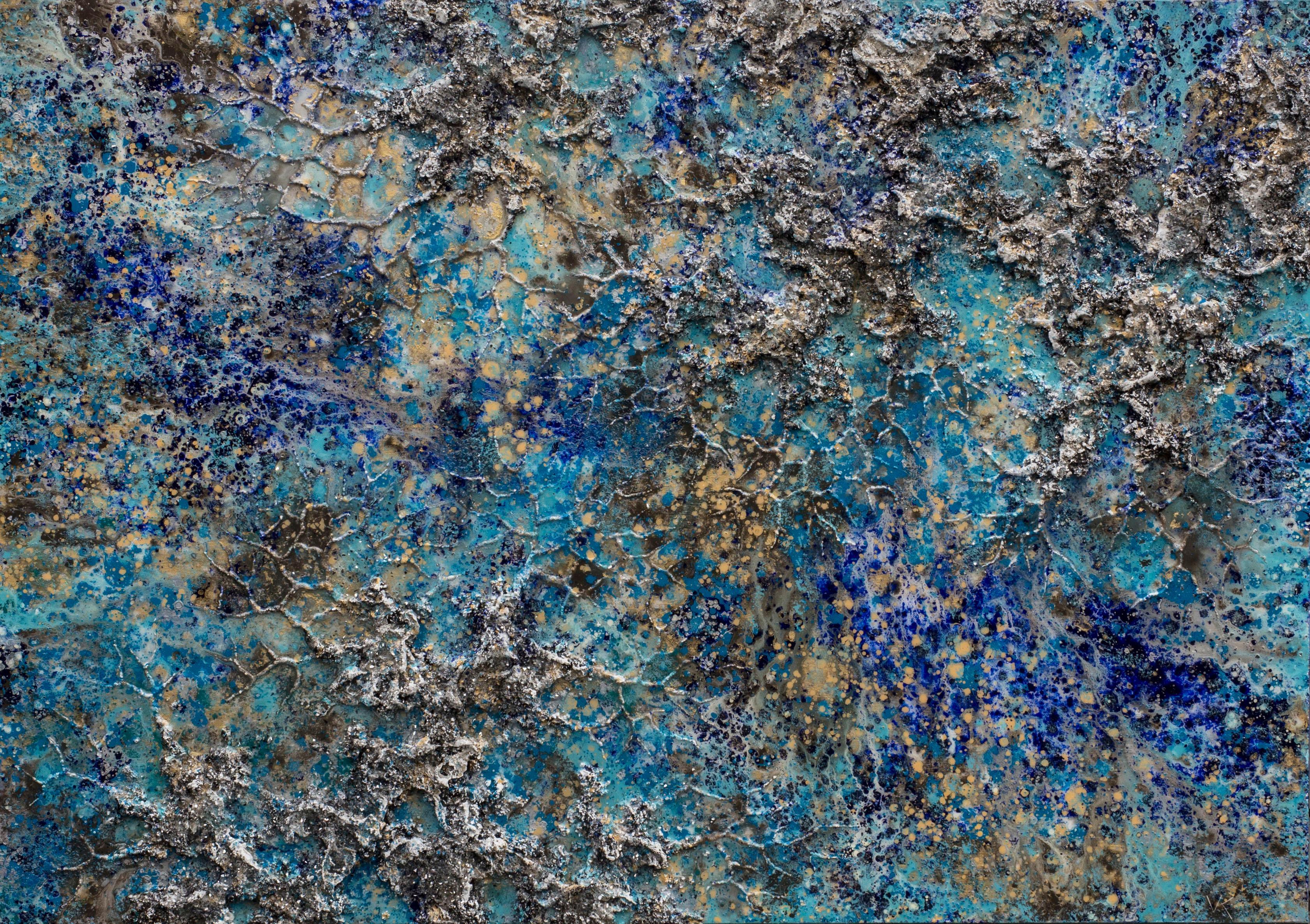 The Earth-XXXII, Mixed Media on Canvas