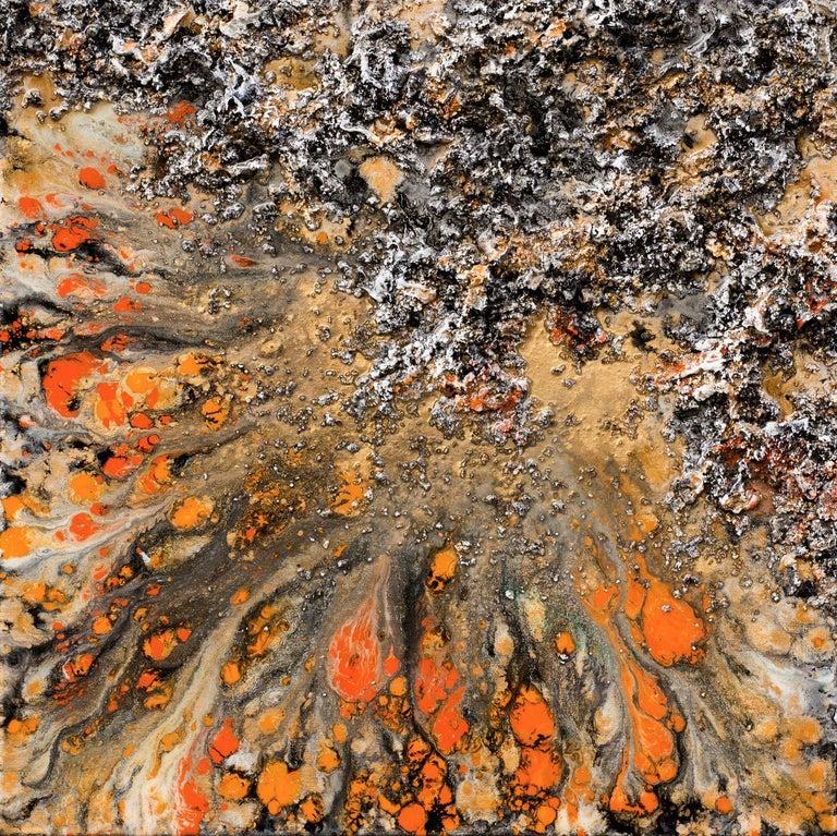 The Earth XLVIII - Mixed Media Art by Victoria Kovalenchikova