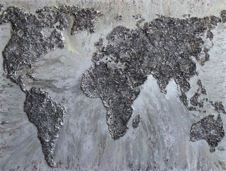 Victoria Kovalenchikova Abstract Painting - The World IX
