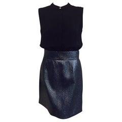 Victoria Victoria Beckham Cocktail Dress w/Midnight Glitter Skirt Size 6 US