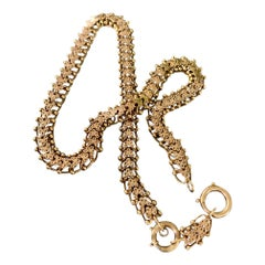 Victorian 14 Karat Gold Chain