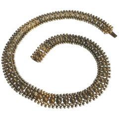 Victorian 15 Carat Gold Collar Necklace or Bracelets