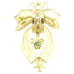 Victorian 18 Karat Yellow Gold Brooch / Pin