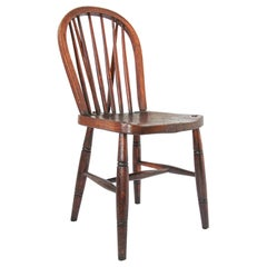 Victorian 1840 Hoop Back Windsor Chair High Wycombe