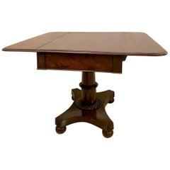 Victorian 19th Century Antique Pedestal Centre Table