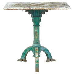 Victorian 19th Century Cast Iron Occasional Table