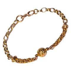 Victorian 9 Carat Gold Bracelet
