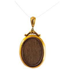 Victorian 9 Carat Gold Locket
