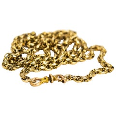Victorian 9 Carat Gold Necklace