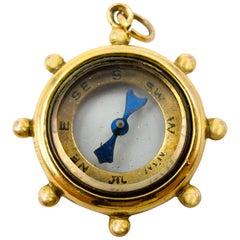 Victorian 9 Karat Compass Pendant
